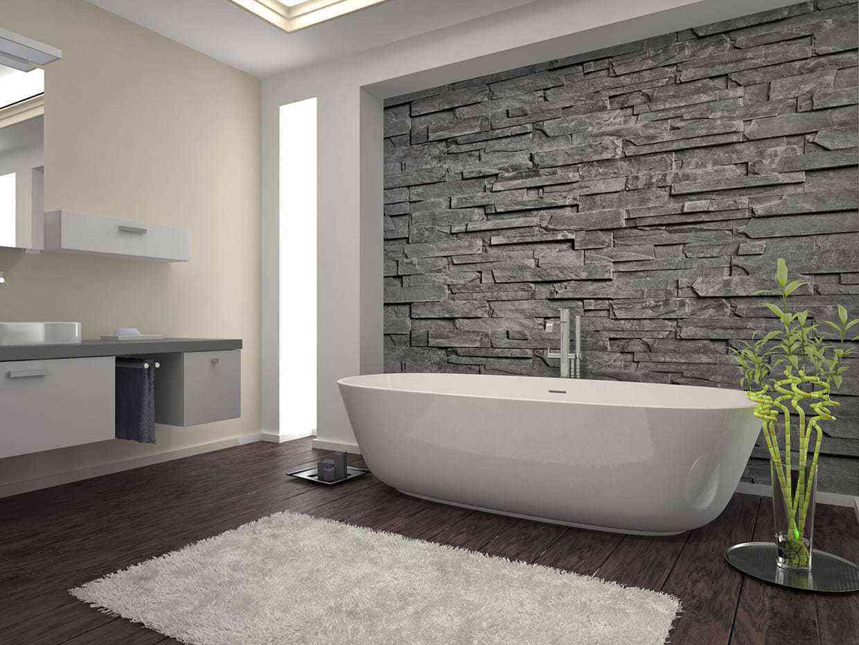 gạch giả đá phòng tắm