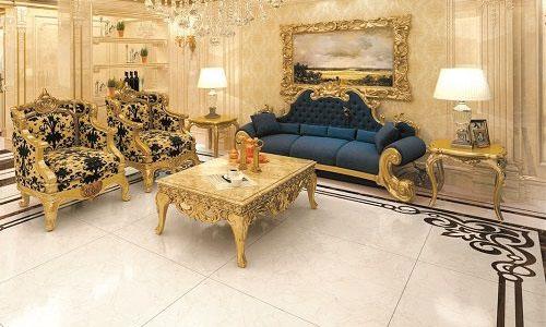 Mẫu gạch Tasa Marble với các tia da màu nâu nhạt. Nó phù hợp với những căn phòng mang phong cách thiết kế cao cấp, sang trọng