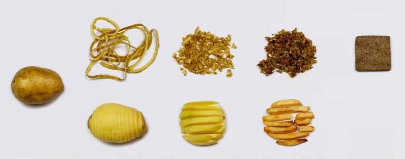 vật liệu xây dựng mới chipboard từ khoai tây