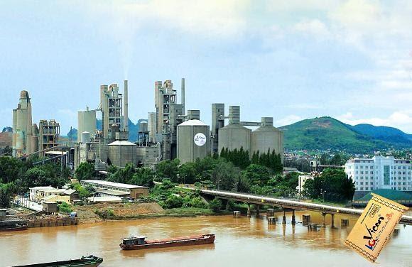 nhà máy xi măng hoàng thạch