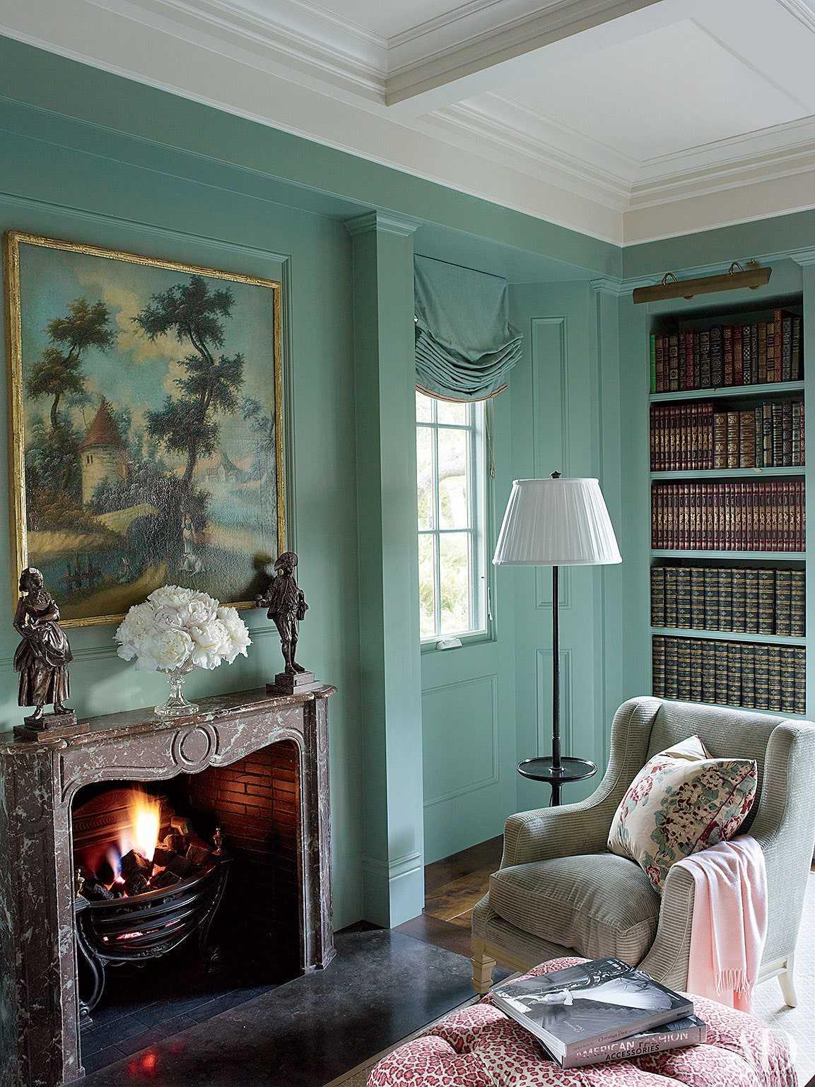 phòng đọc sách độc đáo