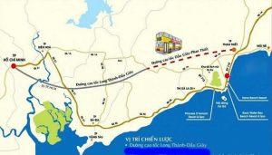 bản đồ quy hoạch dự án cao tốc bắc nam qua bình thuận