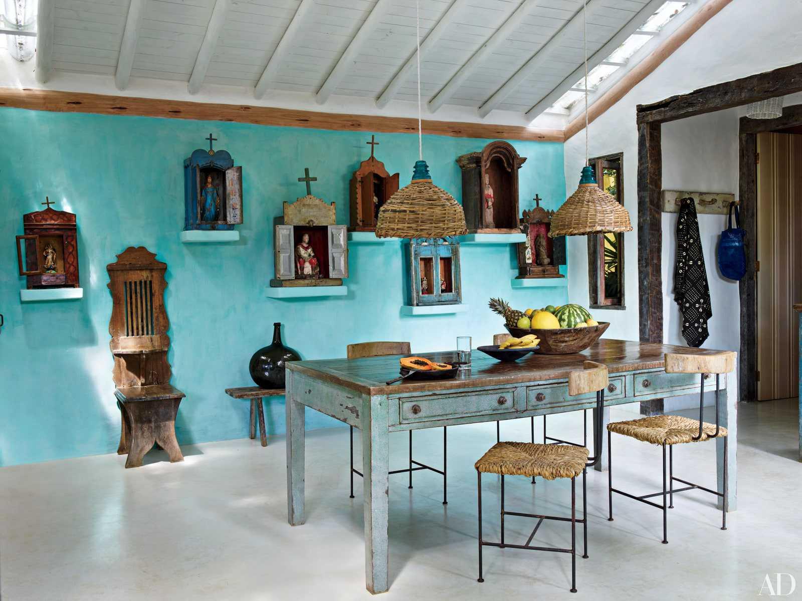 phòng ăn xanh