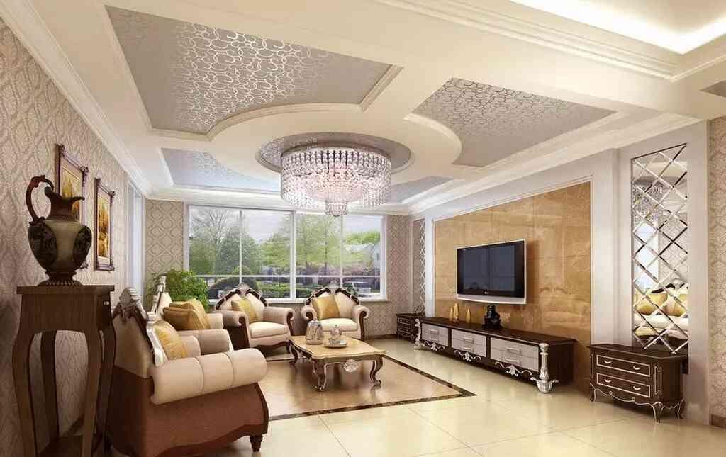 mẫu trần phòng khách