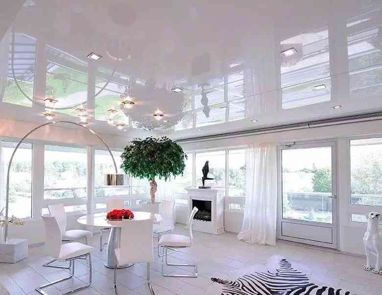 trần phòng khách thạch cao đẹp