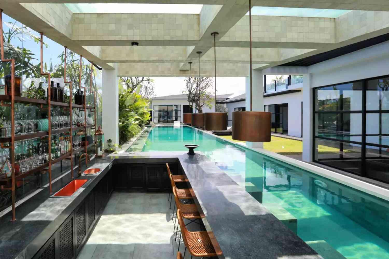 bể bơi mini trong nhà