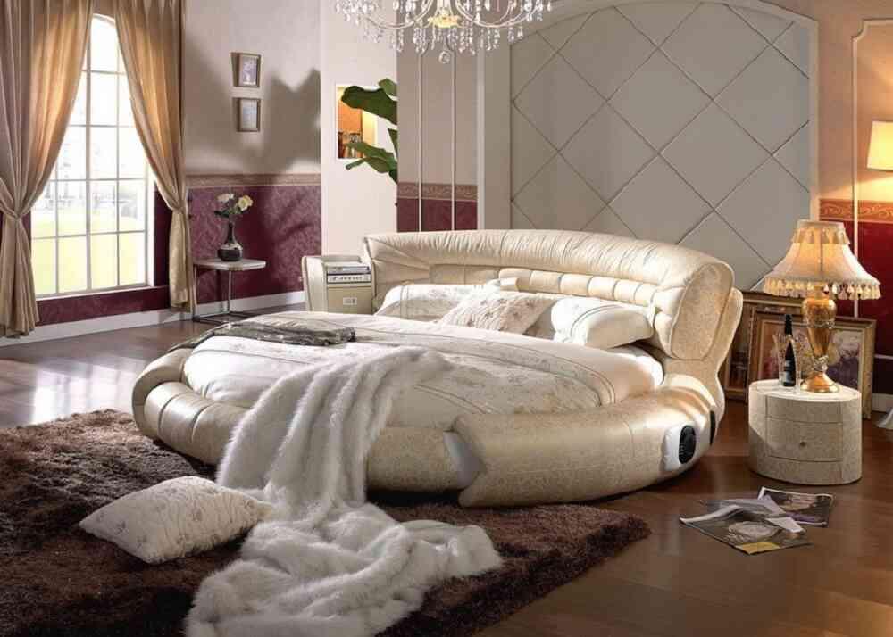 giường tròn độc lạ
