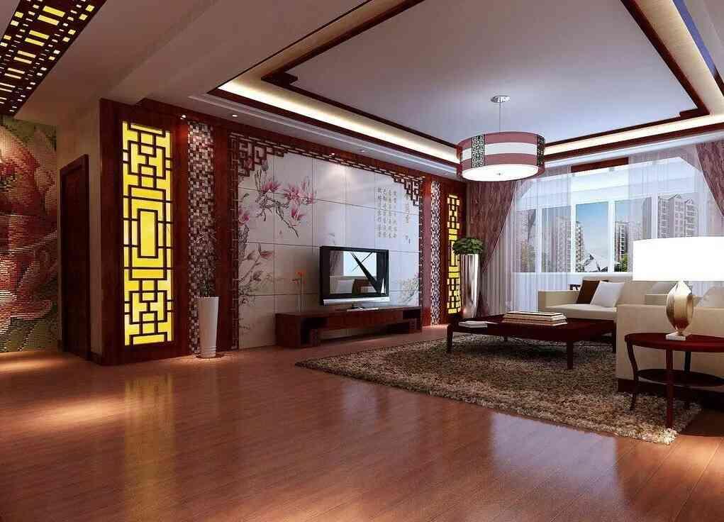 phòng khách nhật đẹp
