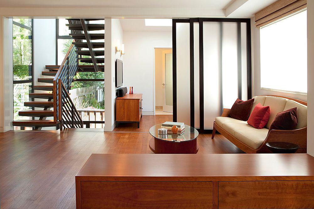 tường kính cho phòng khách