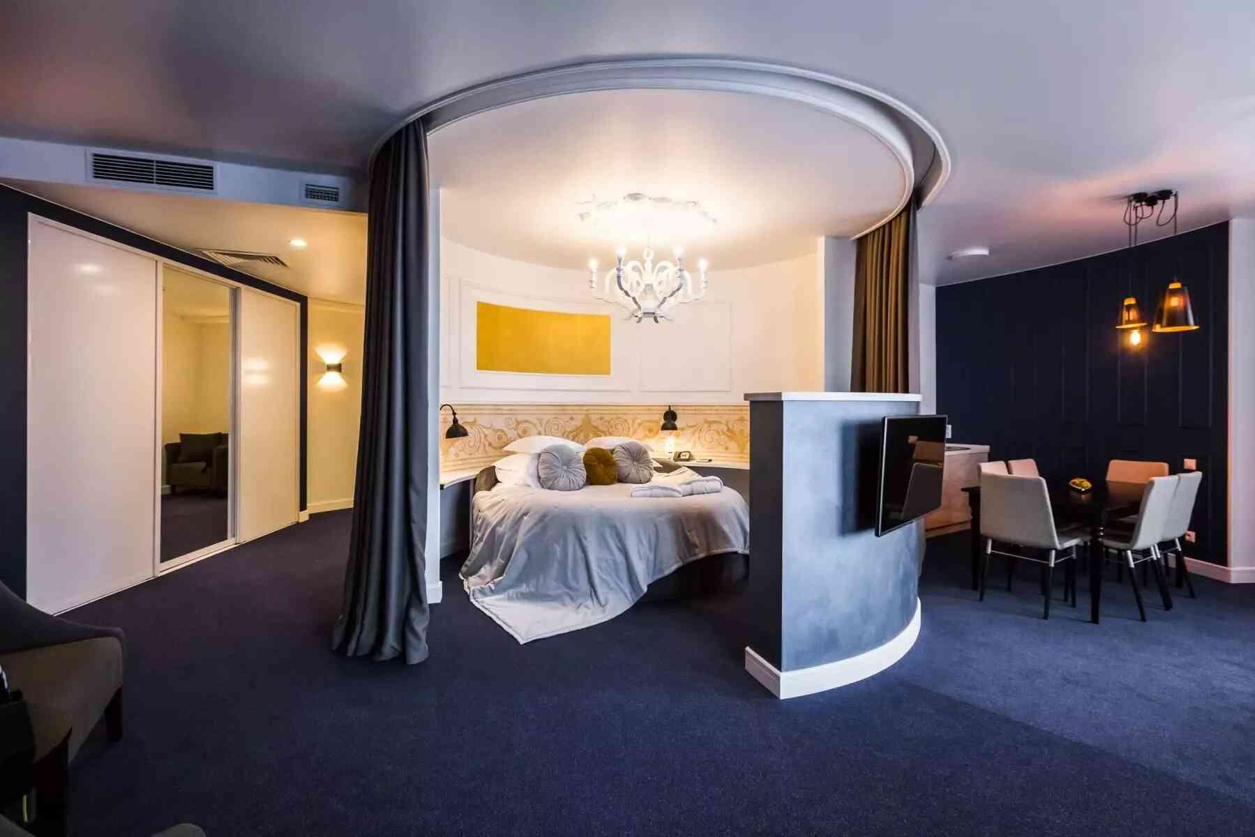 giường tròn cao cấp