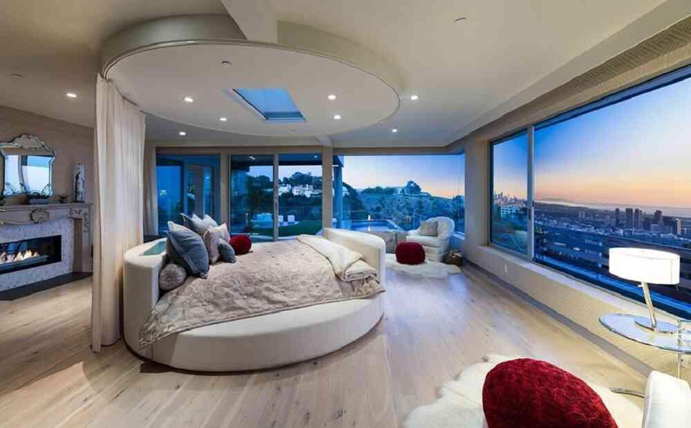 những mẫu giường tròn đẹp