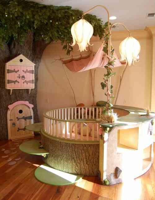 giường tròn cho em bé, chỗ chơi cho trẻ