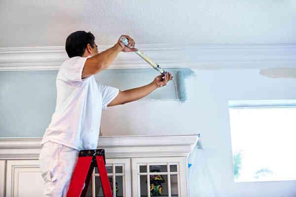 thi công sơn nội thất, thi công sơn chống ồn