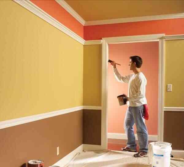 thi công sơn cách âm, tự sơn nhà