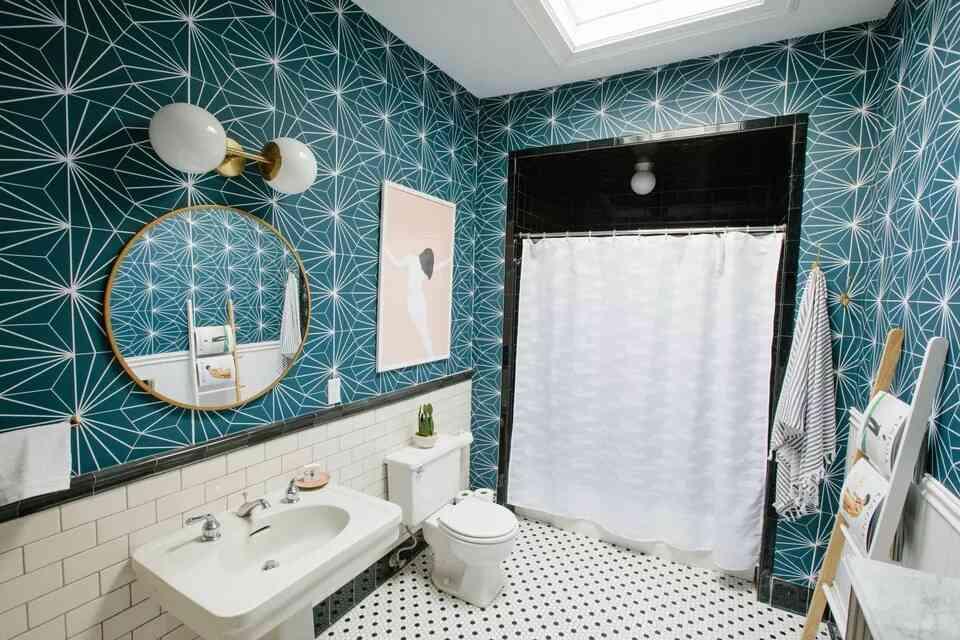giấy dán tường đẹp màu xanh, giấy dán nền đẹp