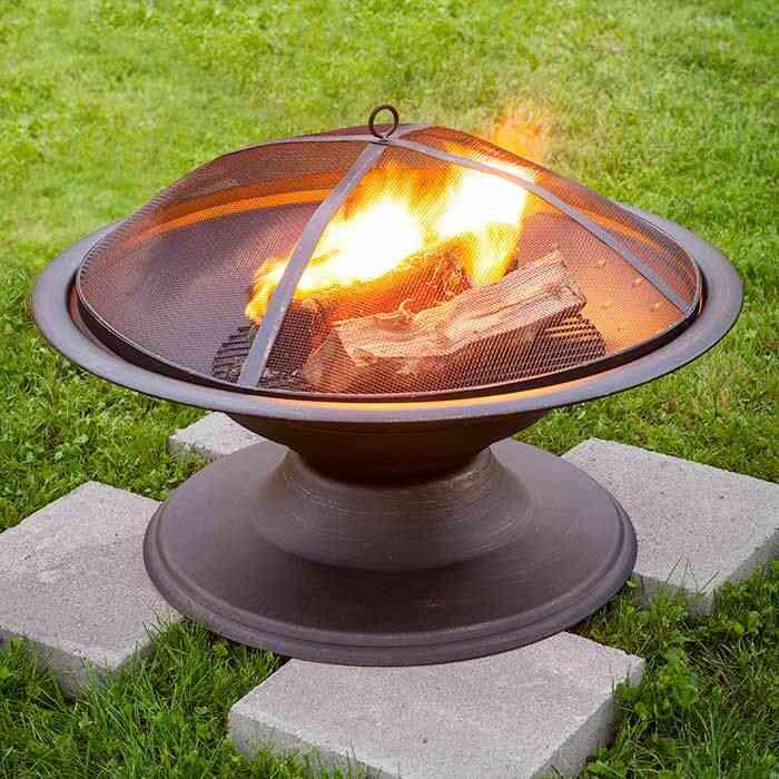 hố lửa sân vườn