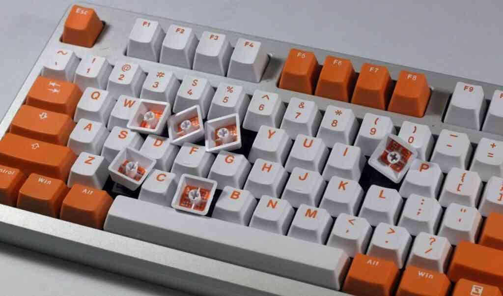 bàn phím, keycap nhựa ABS
