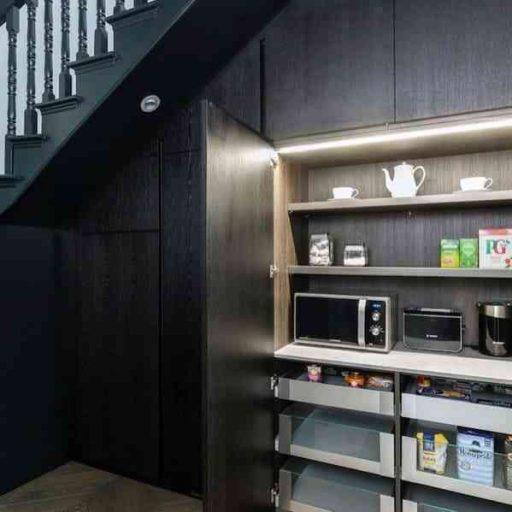 thiết kế gầm cầu thang đẹp
