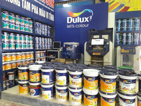 bảng giá sơn dulux giới thiệu