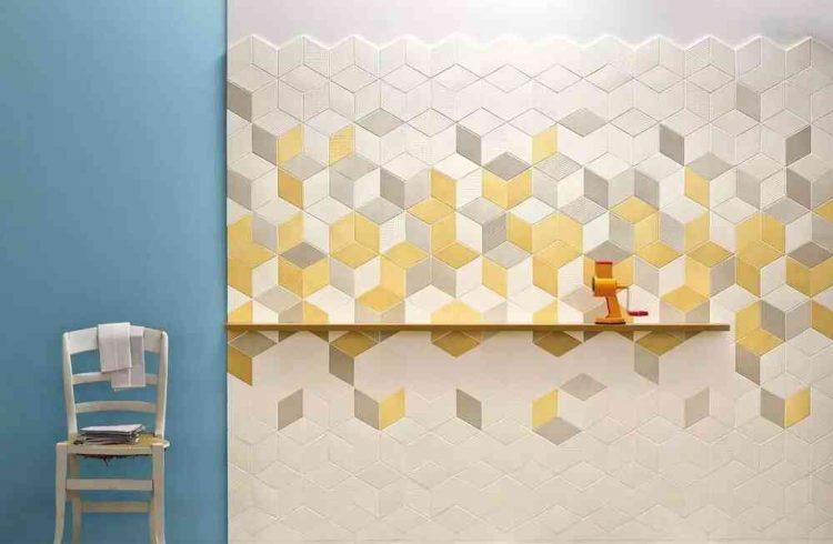 mẫu gạch lục giác đẹp màu vàng xám trắng