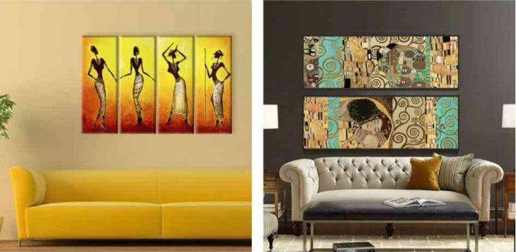 tranh decor phòng khách