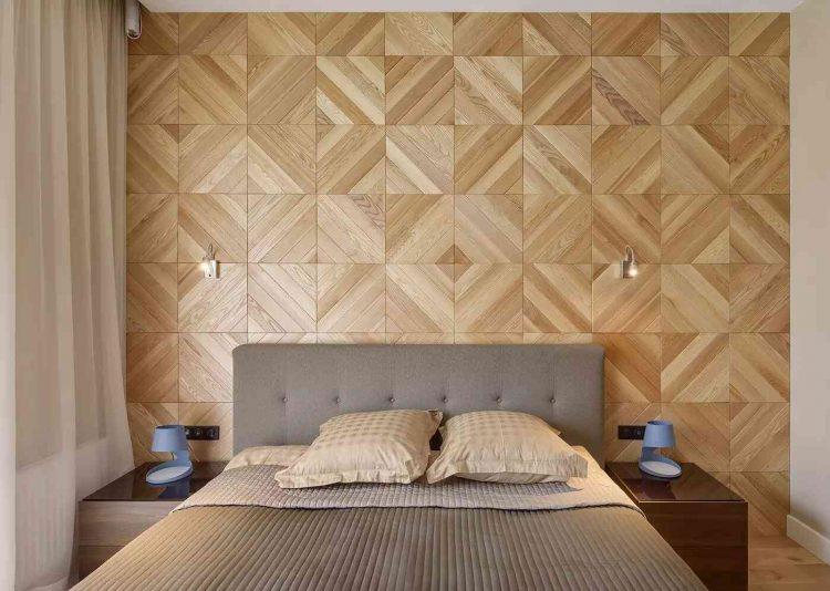 tường gỗ 3d