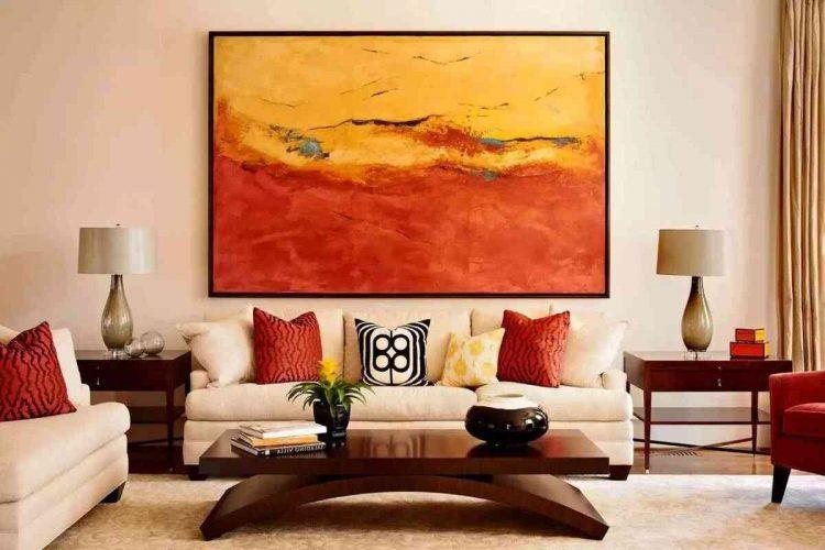 tranh trang trí phòng khách đẹp