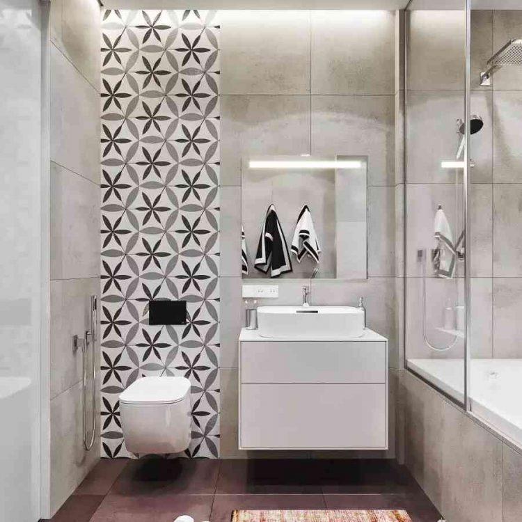 gạch lục giác lát nhà vệ sinh đẹp