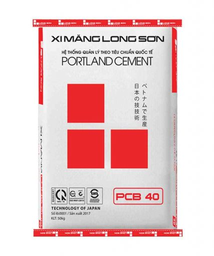 xi măng long sơn PCB40
