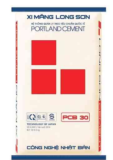 xi măng long sơn PCB30