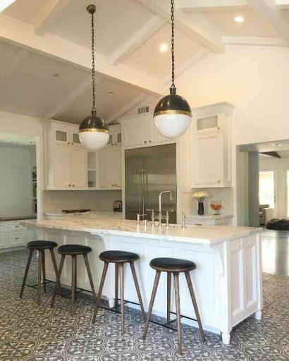 Gạch Terrazzo lát phòng bếp