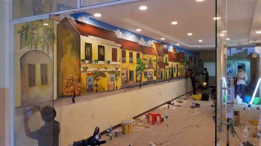 Sơn acrylic vẽ tường