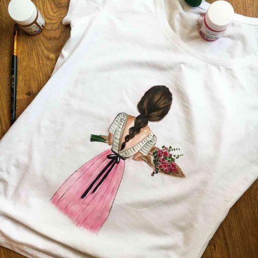 Sơn acrylic cho vải