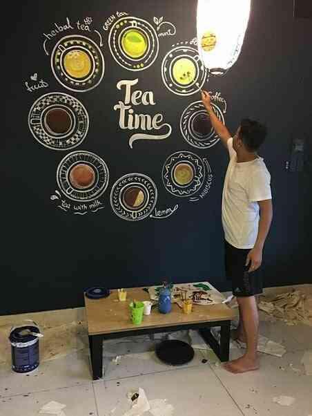 vẽ tường nghệ thuật