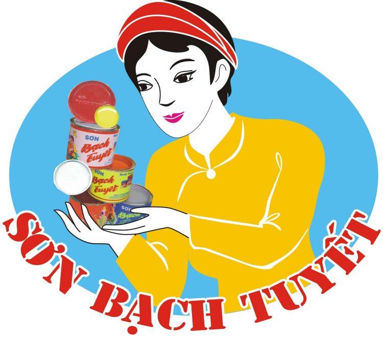 logo sơn Bạch Tuyết