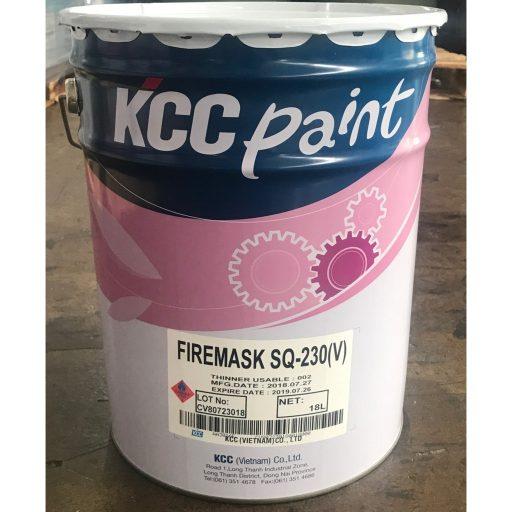 Sơn chống cháy KCC (Firemask SQ)