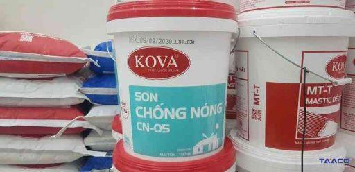 sơn chống nóng KOVA