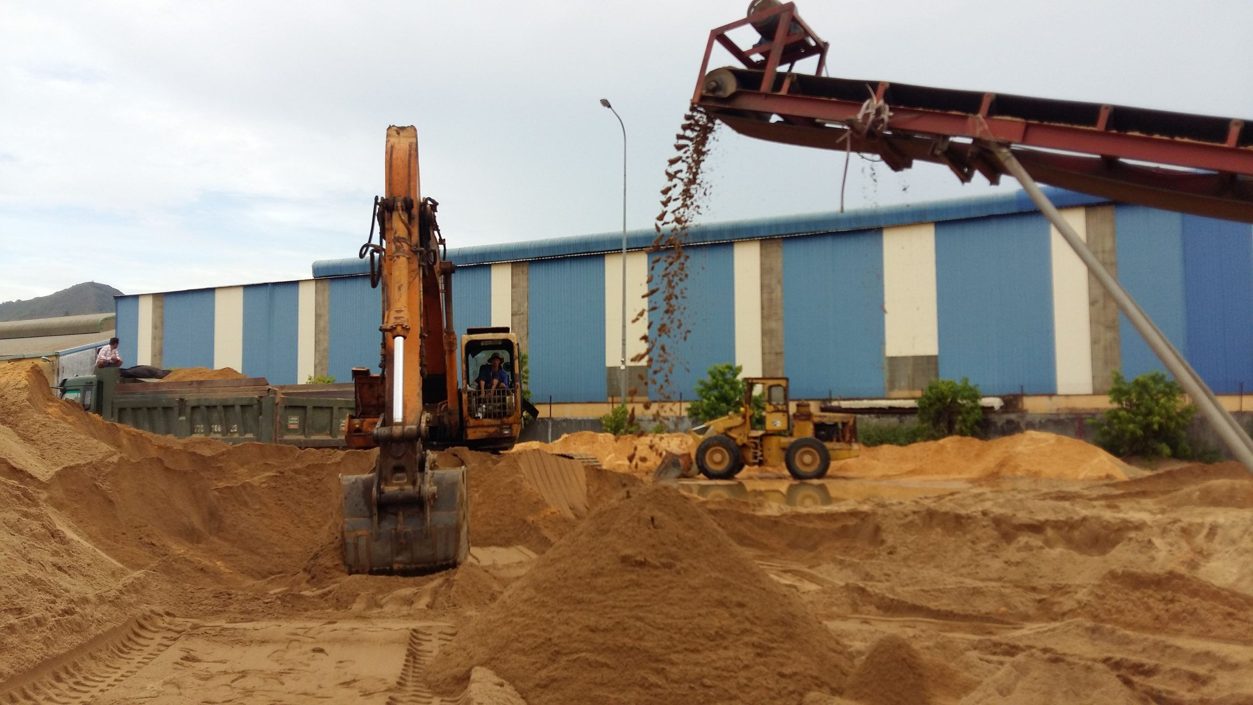 Nhận định về giá cát xây xựng 2021