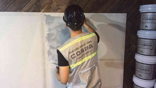 sơn hiệu ứng bê tông conpa