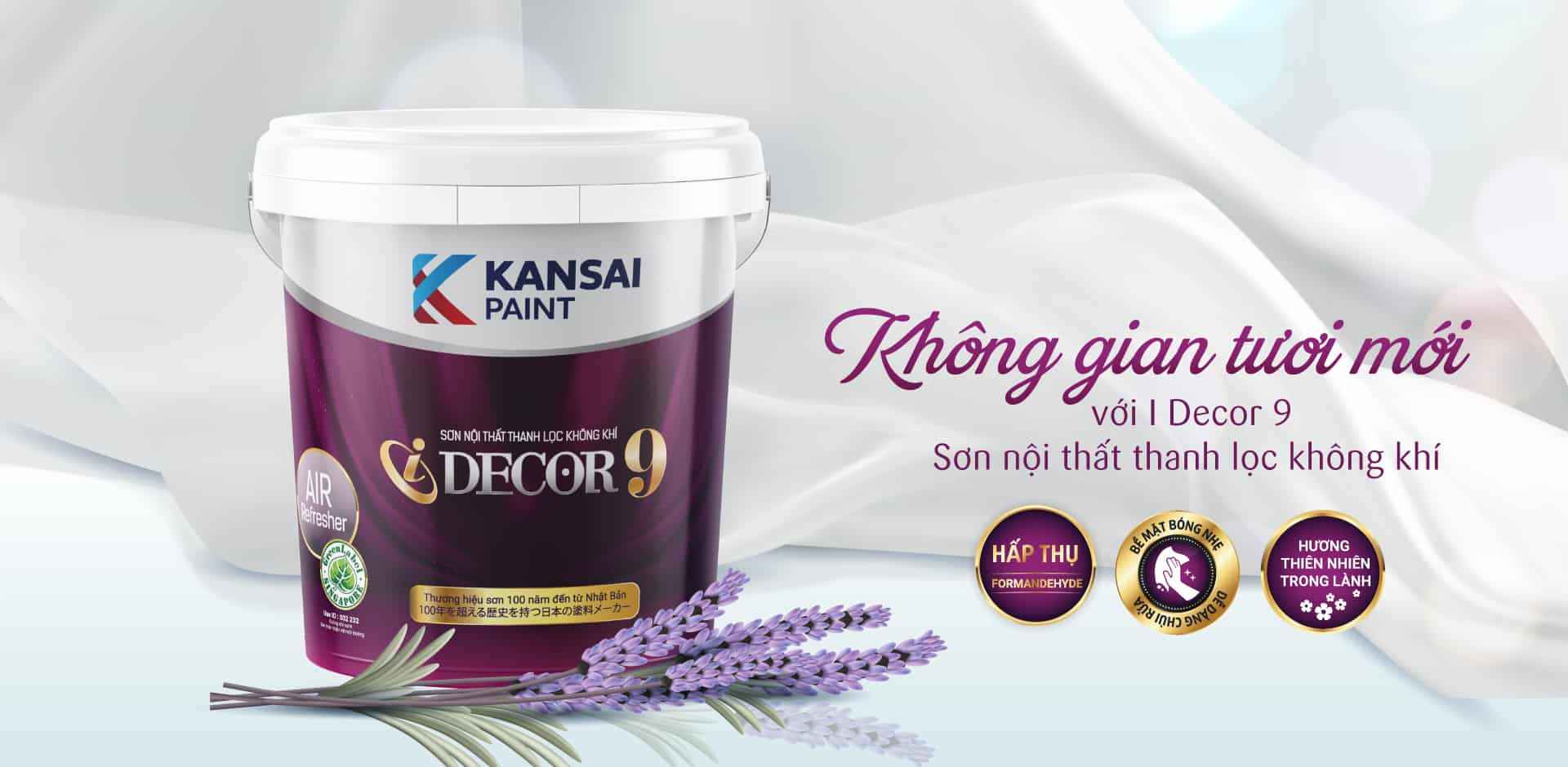 Kansai Paint cung cấp những sản phẩm nào?