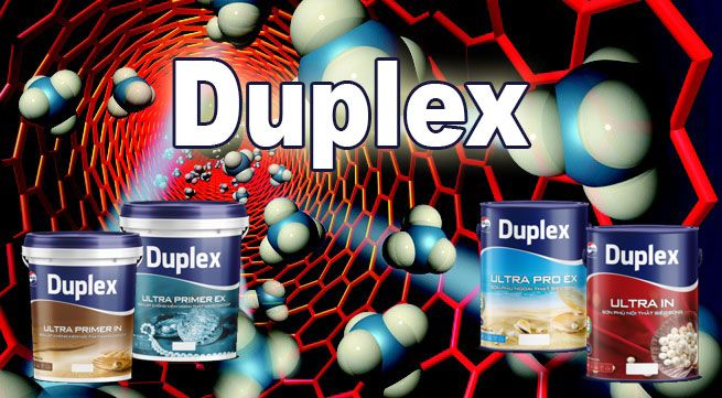 Những ưu điểm vượt trội của sơn Duplex
