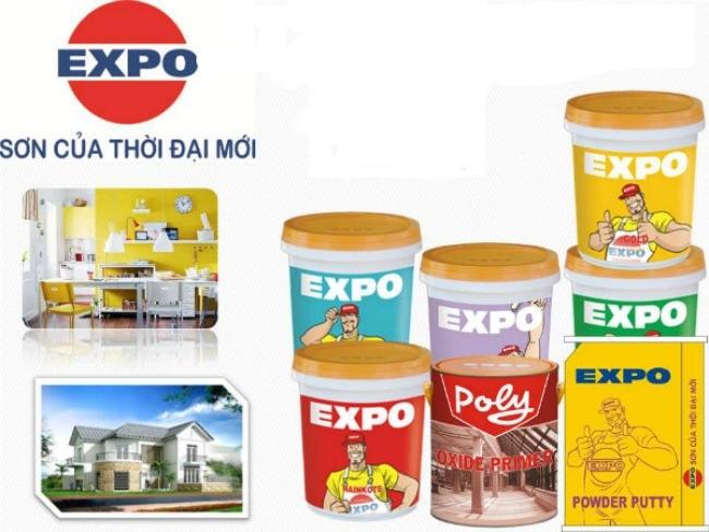 Sơn Expo có thời gian khô nhanh