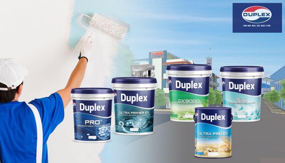 Dòng sơn Duplex ngoại thất