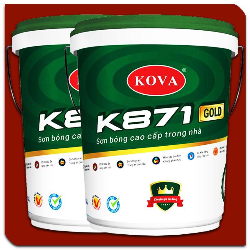 Sơn bóng nội thất Kova K871