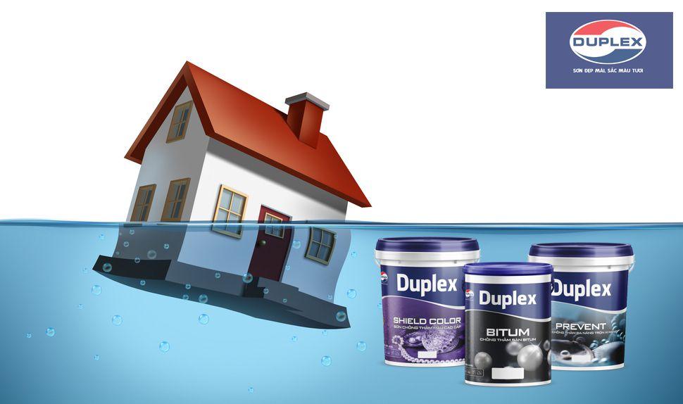 Dòng sơn Duplex chống thấm
