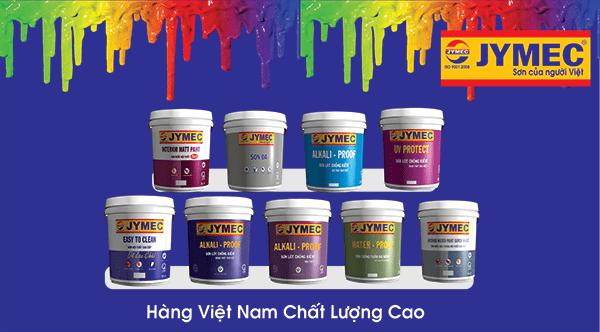 Sơn JYMEC dòng sơn cao cấp của người Việt