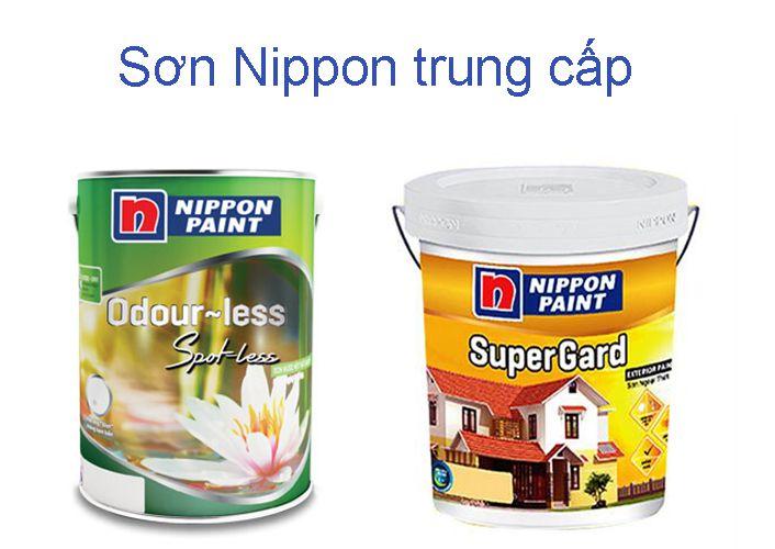 Dòng sơn Nippon trung cấp
