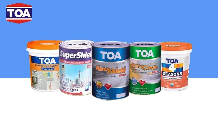 Các sản phẩm sơn TOA đột phá về công nghệ