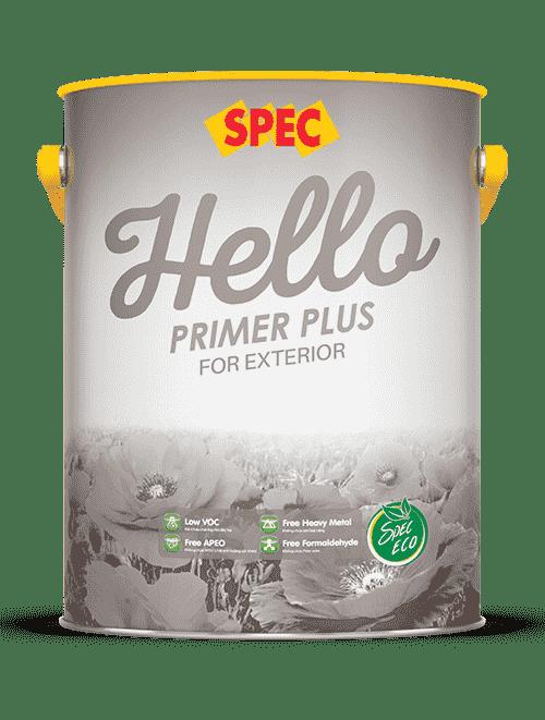 Sơn lót ngoại thất Spec Hello siêu kháng kiềm và kháng muối