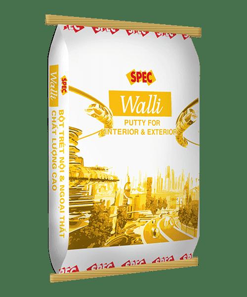 Bột trét nội ngoại thất Spec Walli chất lượng cao